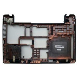 Нижняя часть корпуса ноутбука Asus A52, A52F, A52J, K52, K52F, K52JB, K52JC, K52JE, K52JK, K52JR, K52JT, K52JU, X52, X52D, X52DE, X52DR, X52F, X52J, X52JB (13GNXM1AP040-3, 13GNXM1XP04X-X, 37KJ3BCJN00, ZYEA37KJ3BCJN00)
