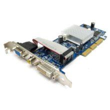 Видеокарта AGP 128 mb GIGABYTE GV-R925128DE-RH Radeon 9250 240Mhz AGP 128Mb 400Mhz 64 bit DVI TV