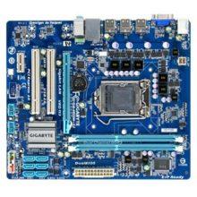 Материнская плата Gigabyte GA-H55M-S2 S1156 H55 2xDDR3 6xSATA GbE 1xPCI-E x16 microATX