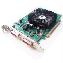 Видеокарта PCI-E 256Mb PALIT Geforce 8600GT 2xDVI TV-out 128-Bit DDR3 Б/У