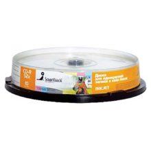 Диск CD-R SmartTrack 700Мб 80 min 52х (10 шт. на шпиле) Inkjet