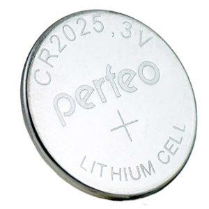 Батарея Perfeo CR2025 Lithium Cell 1 штука в блистере (PF CR2025/5BL)