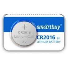 Батарея SmartBuy CR2016 Lithium Cell