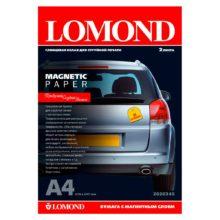 Фотобумага Lomond А4 с магнитным слоем 2 листа