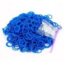 Резинки для плетения Синие (600шт)