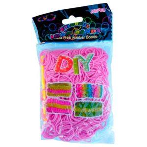 Резинки для плетения Розовые (600шт)
