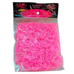 Резинки для плетения Светло-Розовые (600шт)