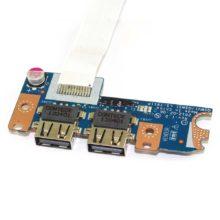 Плата USB (2 разъема) для ноутбука Acer Aspire E1-521 E1-531 E1-571, Packard Bell TE11 (Q5WV1/Q5WS1 LS-7911P) + шлейф (P5WE0 NBX0000V800)