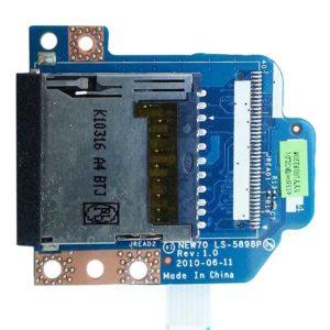 Картридер со шлейфом для ноутбука Acer Aspire 5251, 5551, 5741, eMachines E642, E642G, Packard Bell Easynote TM86 NEW91, Packard Bell Easynote TM82 NEW95  (NEW70 LS-5898P, NBX0000NK00)
