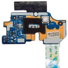 Плата кнопки старта запуска включения для ноутбука Acer Aspire E1-531, E1-571, V3-551, PB TE11 (Q5WV1/Q5WS1 LS-7912P) + шлейф (P5WE0 NBX0000UR00)