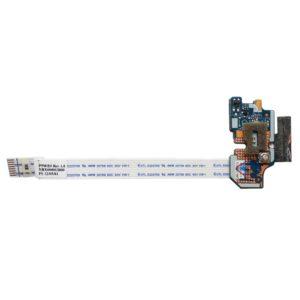 Плата кнопки включения, старта, запуска со шлейфом 8-pin 110×9 мм для ноутбука Acer Aspire E1-531, E1-571, V3-551, Packard Bell TE11 (Q5WV1/Q5WS1 LS-7912P)