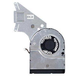 Вентилятор (KSB05105HA-DF34) DC05V 0.35A 3-pin  + радиатор (AT12R001DT0) для ноутбука Acer Aspire E1-510, E1-510P, E1-410G