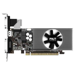 Видеокарта PCI-E 1024Mb Palit GeForce GT740 993Mhz PCI-E 3.0 1782Mhz 128 bit DVI HDMI HDCP LowProfile OEM (NEAT7400HD01)