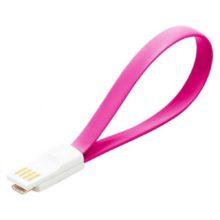 Дата-кабель USB -micro USB Smartbuy, магнитный, длина 0,2 метра Pink Розовый (iK-02m pink)