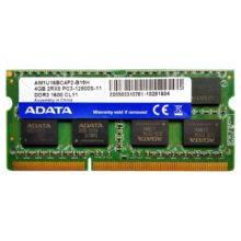 Модуль памяти SO-DIMM DDR3 4GB PC-12800 1600 Mhz ADATA