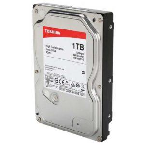 Жесткий диск 3.5″ 1 ТБ Toshiba P300 HDWD110UZSVA, 7200 RPM, 64 МБ, SATA III