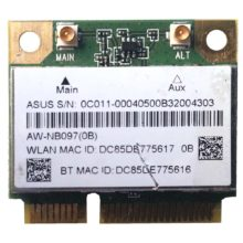 Модуль Wi-Fi + Bluetooth AzureWave AW-NB097H Wireless IEEE 802.11 b/g/n - BT Combo PCIe minicard