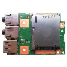 Плата USB + AUDIO + CARDREADER для ноутбука Lenovo Z575 (Модель: 55.4M502.001)