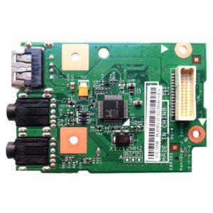 Плата USB + Audio + Card Reader для ноутбука Lenovo Z570, Z575, B570, B575, V570 (55.4M502.001G, 48.4PDA04.01M, LA57 Card Reader BD, 10785-1M)