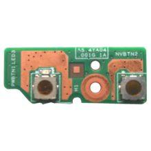Плата кнопки старта, запуска, включения ноутбука Lenovo B590 (55.4YA04.001G, 48.4TE04.011 LA58 BTN BD)