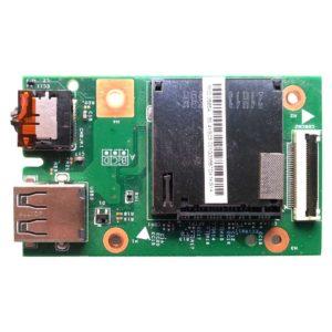 Плата 1xUSB + Audio + Card Reader для ноутбука Lenovo IdeaPad B590 (48.4TE03.011 LA58 IO BD, 11863-1, 55.4XB03.001, 55.4YA03.001G)
