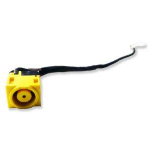 Разъем питания 7.9×5.6 с кабелем 5-pin 185 мм для ноутбука Lenovo IdeaPad B590, V580C (50.4TE08.031, LAB58 DC IN CABLE)