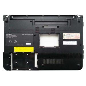 Нижняя часть корпуса ноутбука Sony Vaio VPCEA, PCG-61211V, PCG-61211M, VPCEA4M1R, VPCEA3C5E (012-002A-2977-B, 4-178-468-01)