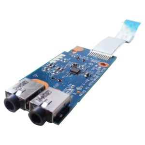 Плата AUDIO + CARD Reader для ноутбука Samsung NP355V4C, NP355V5C, NP350V5C (QCLA4 LS-8864P) + шлейф 12-pin 80×14 мм (NBX00017I00)