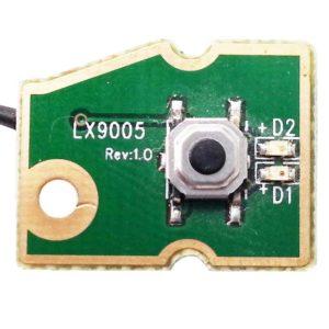 Кнопка включения, старта, запуска со шлейфом 4-pin 95 мм для ноутбука Sony Vaio PCG-61211V, VPC-EA, VPCEA, VPCEA4M1R (M961 POWER CABLE. 015-0101-1588_A)