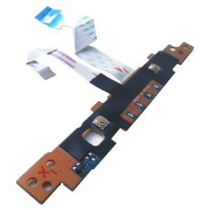 Плата кнопок тачпада + индикация для ноутбука Samsung NP355V4C, NP355V5C, NP350V5C (LS-8863P) + 2 шлейфа 6-pin 70×7 мм и 12-pin 93×13 мм (NBX00017O00, NBX00017N00)