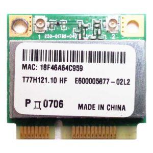 Модуль Mini PCI-E Wi-Fi 802.11b/g/n для нетбука Acer Aspire One D255, Packard Bell NAV50 (Atheros AR5B95, PDD-AR5B95, T77H121.10 HF)
