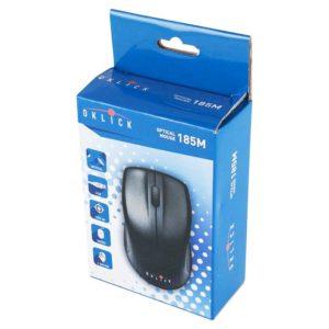 Мышь Oklick 185M USB 1000 dpi Black Чёрная