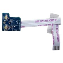 Плата LED индикации со шлейфом 4-pin 59x5 мм для ноутбука HP Pavilion g6-1000, g7-1000, g6-1xxx, g7-1xxx серий (DAR22YB16C0, 33R22LB0010)