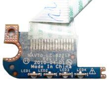 Плата LED индикации для ноутбука Acer One D255, D260, 533 (NAV70 LS-6221) + шлейф (NAV70 NBX0000QW00)