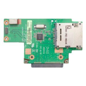 Плата HDD SATA с картридером для ноутбука Asus K40, K40XX, K40AB, K40AF, K40IN, K40IJ, K40IL (60-NVJCR1000-C03, 69N0EIC10C03-01, K40I_CARDREADER REV. 2.0)