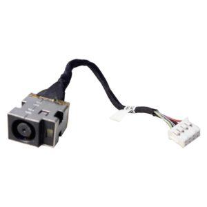 Разъем питания с кабелем 8-pin 120 мм для ноутбука HP Pavilion g4, g6, g7, g6-1000, g6-1xxx серий (R15, DD0R15AD010)