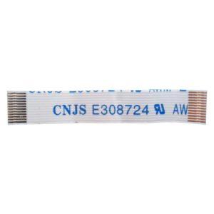 Шлейф платы SATA привода ноутбука Samsung R525 12-pin 40 мм (CNJS E308724 AWM 2896 80C 30V)