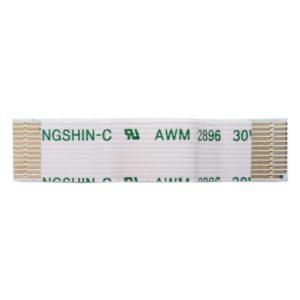 Шлейф кнопок тачпада 12-pin 30×7 мм для ноутбука Asus K40, K50, K60, K70, F52, F82, PRO5, X5, X70 (YOUNGSHIN-C AWM 2896 30V 80C VW-1)