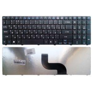 Клавиатура для ноутбука Acer Aspire 5810, 5738, 5740, 7735, 7738, e-Machines E642G, E644, G640, Packard Bell Easy Note NEW90, NV50, TK81, TK85 Black Черная (MB358-001, 5810-US)
