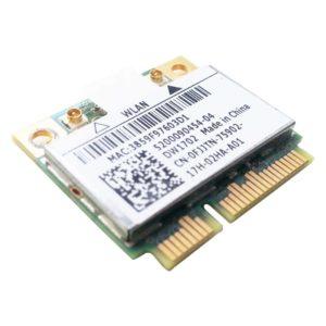 Модуль Wi-Fi + Bluetooh BT 3.0 Mini PCI-E Atheros AR5B195 802.11b/g/n (DW1702, CN-0FJJTN, ATH-AR5B195)