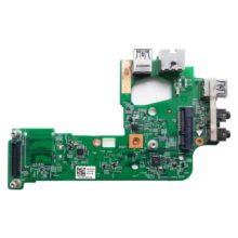 Плата 2xUSB3.0 + AUDIO 2xJACK + LAN RJ45 + Mini PCI слот для ноутбука Dell Inspiron 15R, N5110 (DQ15 NEC IO Board, 48.4IE14.011, 554IE0200)