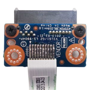 Плата SATA для соединения привода DVD к ноутбуку Lenovo IdeaPad G500s, G505s (VILG1/GZ LS-9904P) + шлейф 10-pin 34 мм (VILG1 NBX0001EF00)