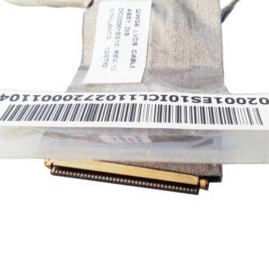 Шлейф матрицы ноутбука Lenovo G580, G585, G480 40-pin -> 30-pin + 5-pin  (DC02001ES10 REV.:1.0, QIWG6 LVDS CABLE)