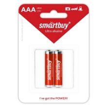Батарея AAA SmartBuy Alkaline Алкалиновая LR03-2B (2 штуки в блистере)