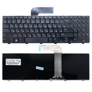 Клавиатура для ноутбука Dell Inspiron N5110, M5110, M511R, 15R, XPS 17, L702X Black Чёрная (OEM)