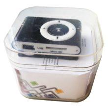 MP3 Плеер LP Nano Металлический 093 Black Чёрный Коробка (R0002558)