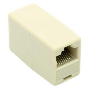 """Адаптер проходной """"5bites"""" RJ-45 – RJ-45 8P8C -> 8P8C кат.5e 8P8C F/F (LY-US022)"""
