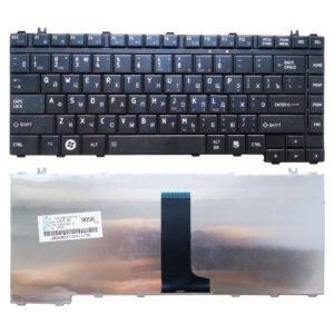 Клавиатура для ноутбука Toshiba Satellite A200, A205, A210, A215, A300, A300D, A305, A350, A350D, A355, A355D, L300, L300D, L305, L305D, L450, L450D, L455, L455D, M200, M205, M300, M305, M500 Black Чёрная (A200-RU, 23C33-RU, V180703B)