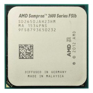 Процессор (CPU) AMD Sempron 2650 Kabini (AM1, L2 1024Kb) 1450 МГц, Kabini (2013), поддержка технологий x86-64, SSE2, SSE3, техпроцесс 28 нм