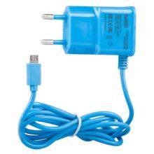 Сетевое зарядное устройство «LP» Micro USB 1А Синее Коробка (0L-00000678)